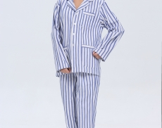 2015-OEM-medical-clothing-blue-stripe-hospital-uniform-women-patient-clothes-hot-sale-classic-style