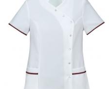 Mandarin Collar trim healthcare tunic
