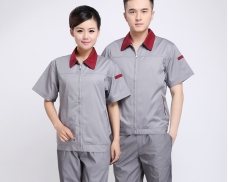 10-sets-Shirt-Pant-4-s-auto-smock-suit-hotel-overalls-Short-sleeved-summer-Mechanic