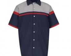 Technician-short-sleeve-work-uniform-mechanic-shirt